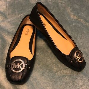 Michael Kors Lillie Leather Moccasins
